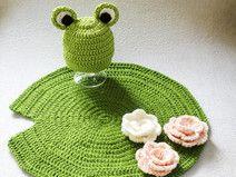 Frosch Baby Foto Set - PDF Häkelanleitung