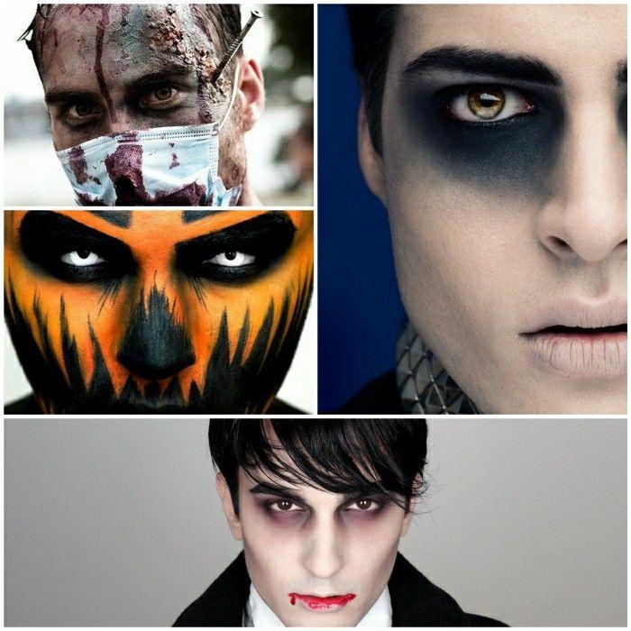 Halloween make-up ideas for men | Halloween Make-up Ideas For A ...