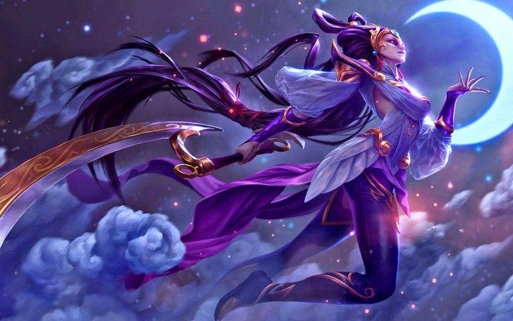 Diana League of Legends 9v Wallpaper HD | Diosa de la luna, Lol league of  legends, League of legends