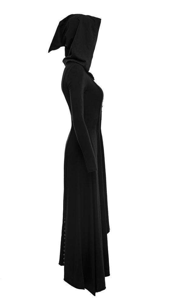 7aa3f065bc7 Punk Rave Black Witch Dress Coat