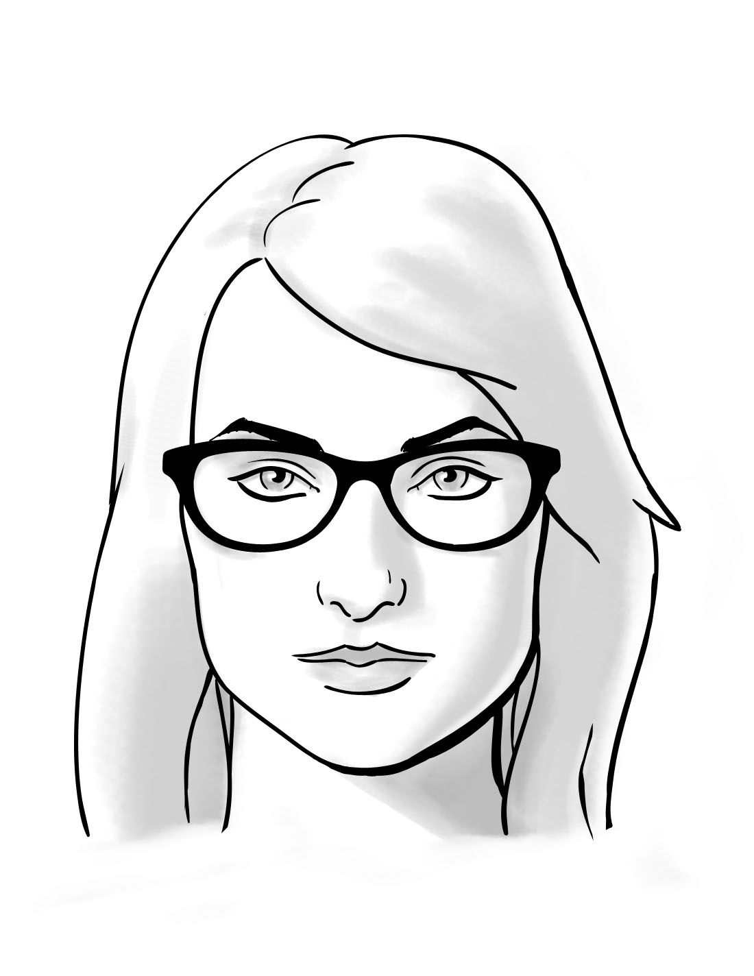 how to: choosing glasses for square face shapes - | face shapes