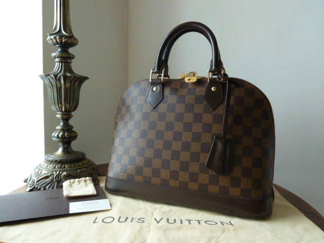 a221be7065a2 Louis Vuitton Alma PM in Damier Ebene