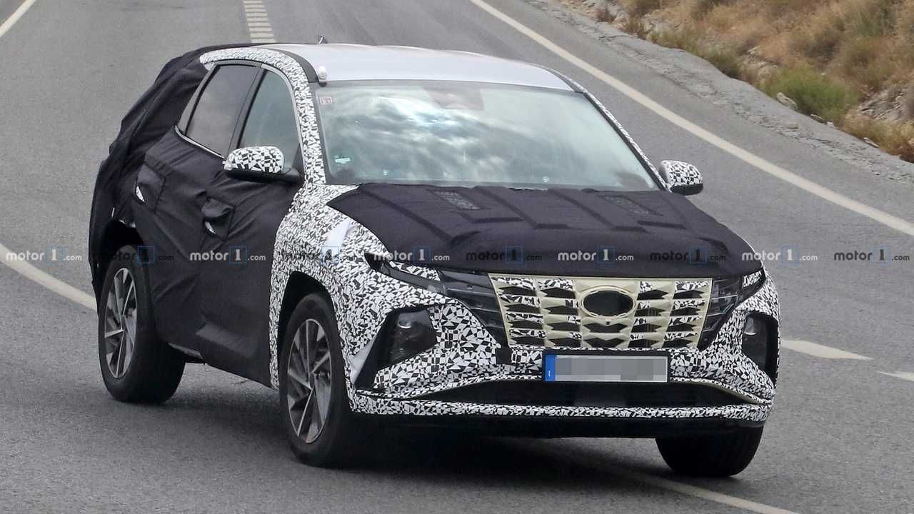 2021 Hyundai Tucson Spied With Much Less Camo To Reveal New