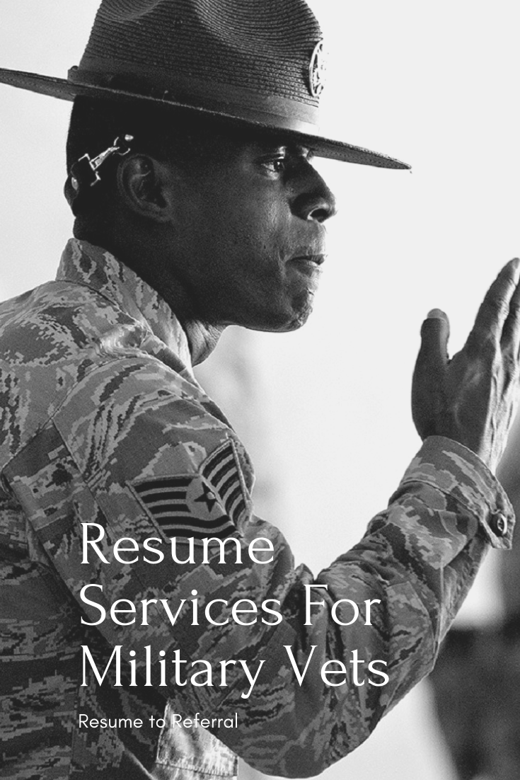 resume services for veterans    military    federal