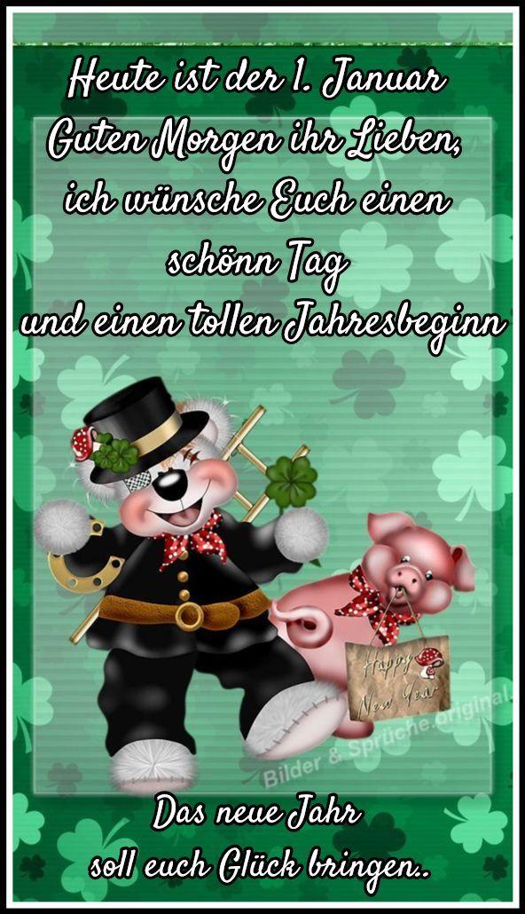 ️ Guten Morgen ️ - #Guten #morgen   Silvester sprüche ...