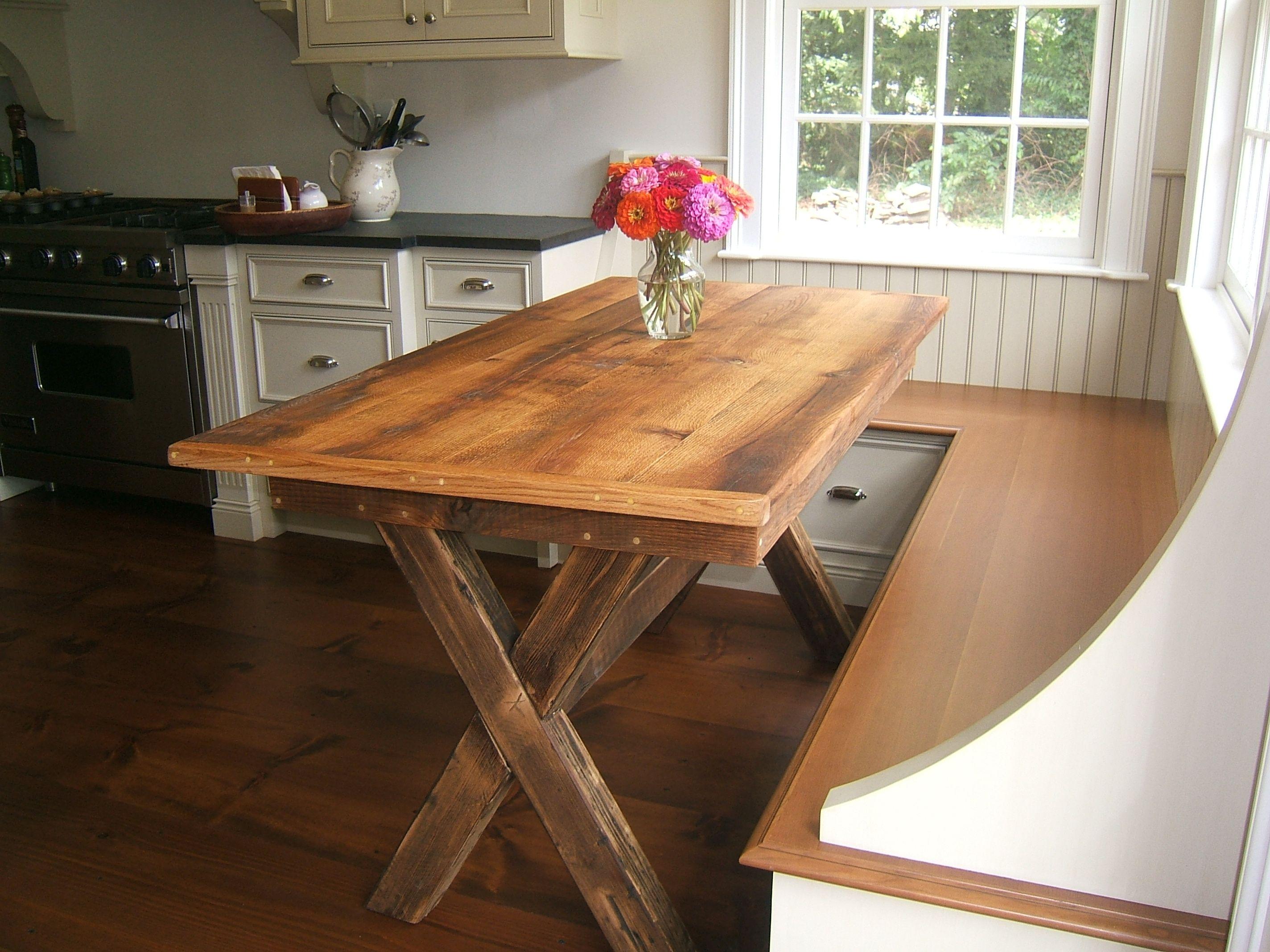 Counter Height Trestle Table | BobReutersTL.com