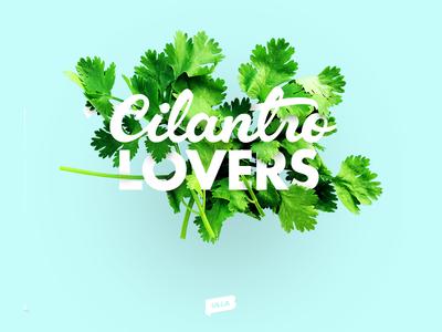 Cilantro Lovers