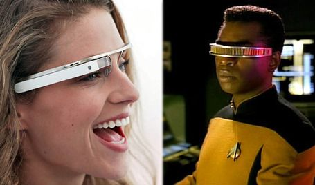 google transparent glass project