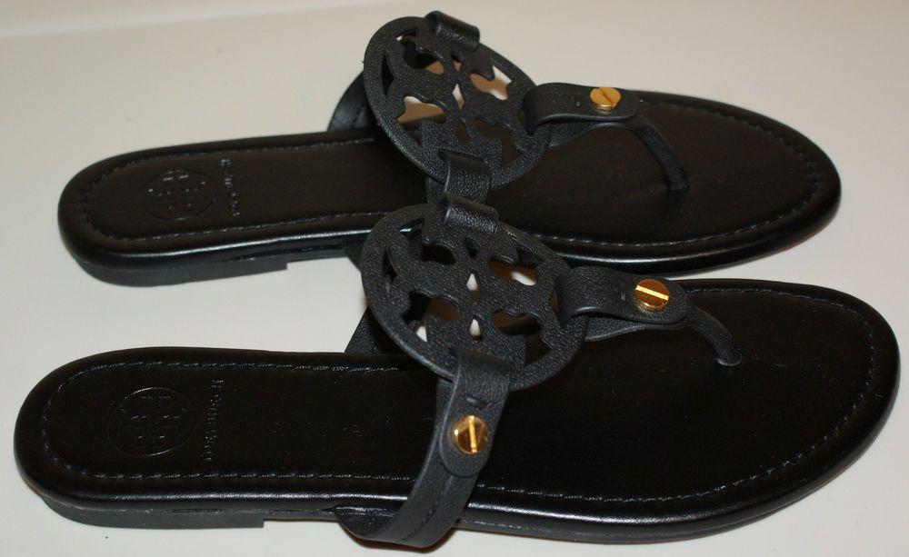 9fd498c55f3 Women s Tory Burch Miller Size 9 Black Flip Flops Sandals Shoes NEW NWOT   fashion  clothing  shoes  accessories  womensshoes  sandals (ebay link)