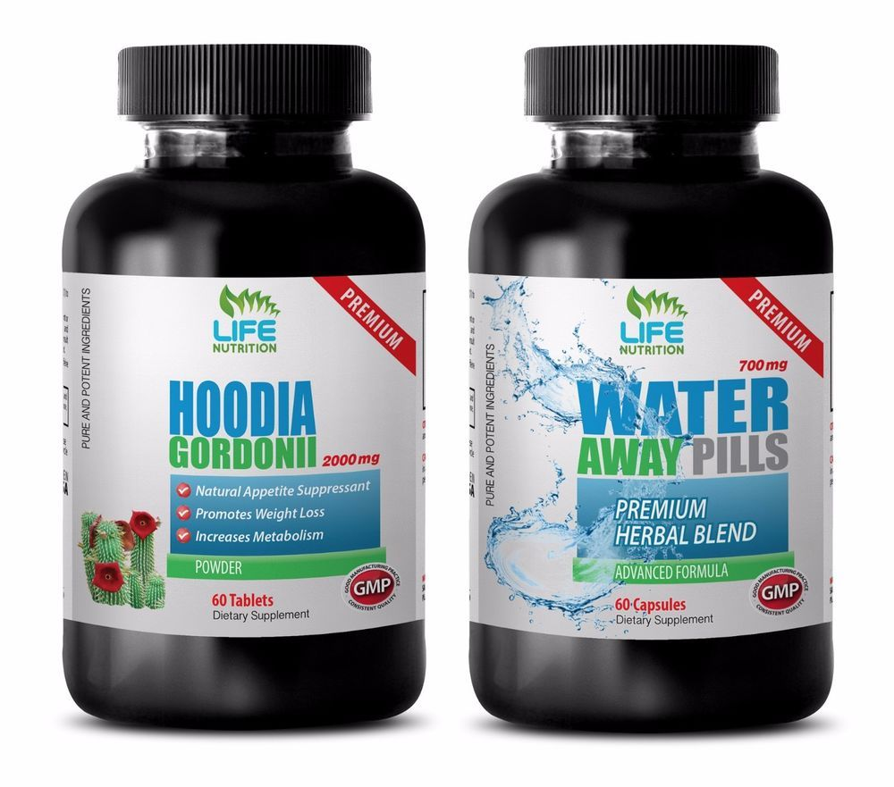 Metabolism Hoodia Gordonii Water Away Combo 2b Green Tea
