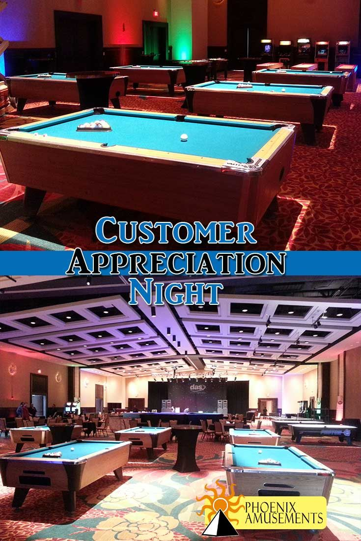 Thank all your customers during a major tradeshow or