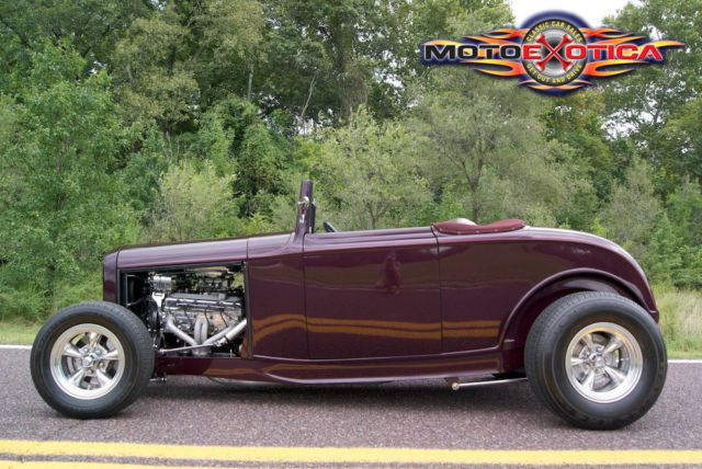 What Makes 32 Ford Hot Rod A High Boy 1932 Ford Highboy Roadster Custom Street Rod 350 V8 Ac Roadsters 1932 Ford Ford Hot Rod