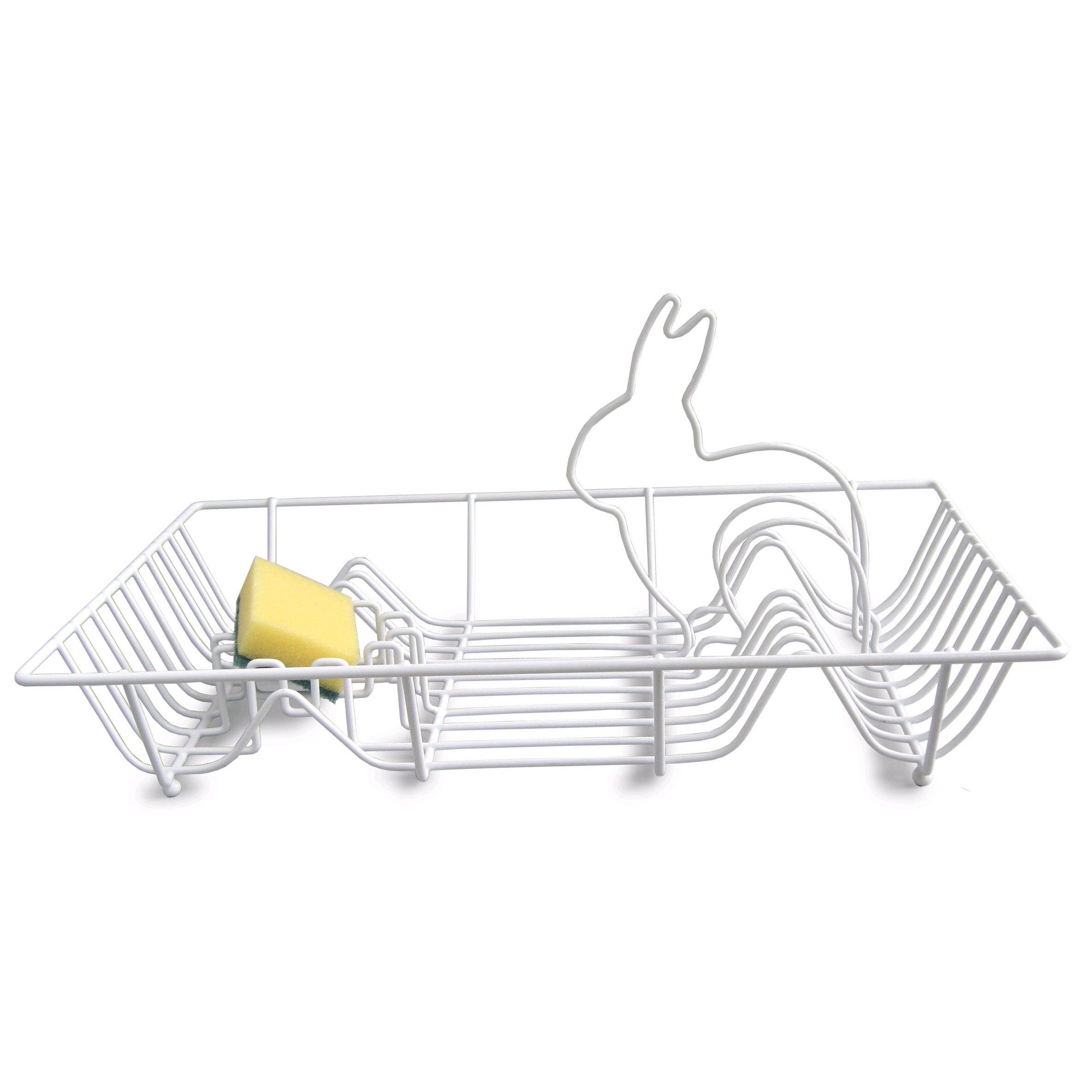 Bunny Dish Drying Rack We Ve Heard Of Dust Bunnies But