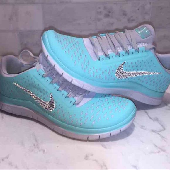 nike tennis shoes with bling