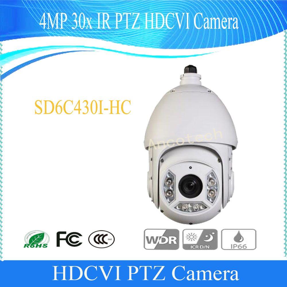 2017 NEW Product DAHUA CCTV Security Camera 4MP 30x IR PTZ HDCVI Camera Without Logo SD6C430I-HC