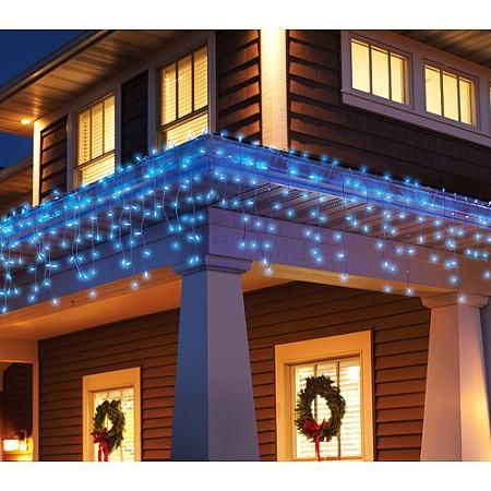 Home Icicle Christmas Lights Holiday Time Christmas Lights