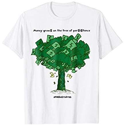 b6160e0edbb3ea Jordan 1 High OG Pine Green T-Shirt (money grows on trees ...