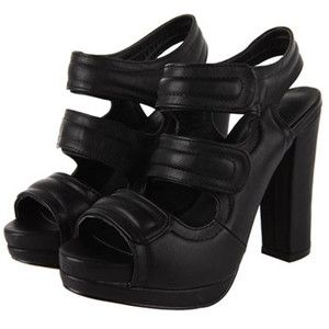 a281c58d050 where can I find these  -    Velcro Strap Platform Heels ...