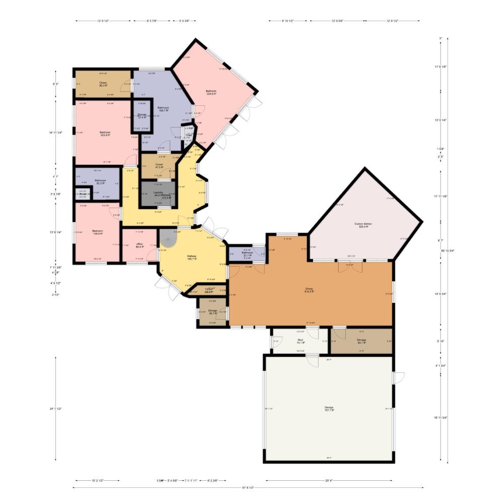 2d Floor Plan Created With Floorplanner Com Create Floor Plan Floor Plans Blueprints