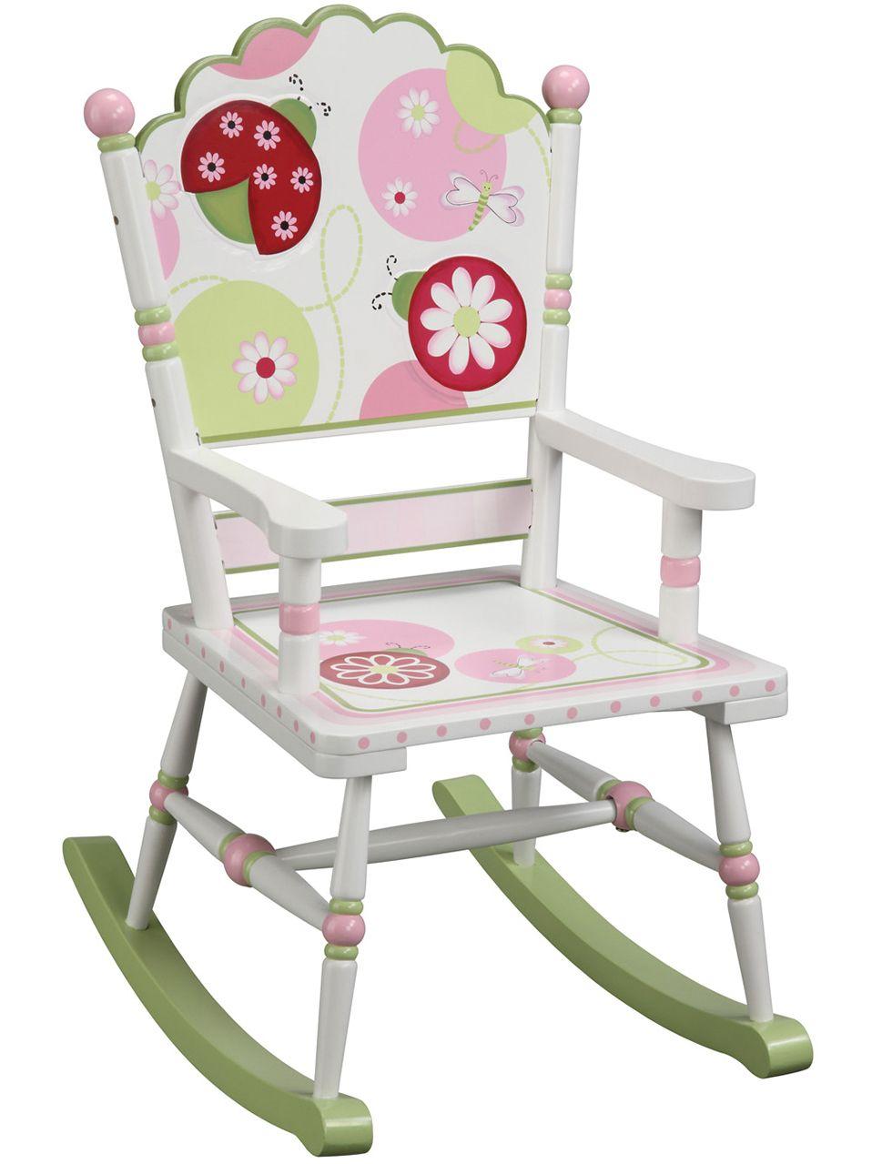 Girly Rocking Chair 163 76 99 Http Www Kidsfurnitureworld