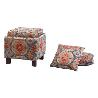 Fabulous Trent Austin Design Abasi Storage Ottoman Products Short Links Chair Design For Home Short Linksinfo