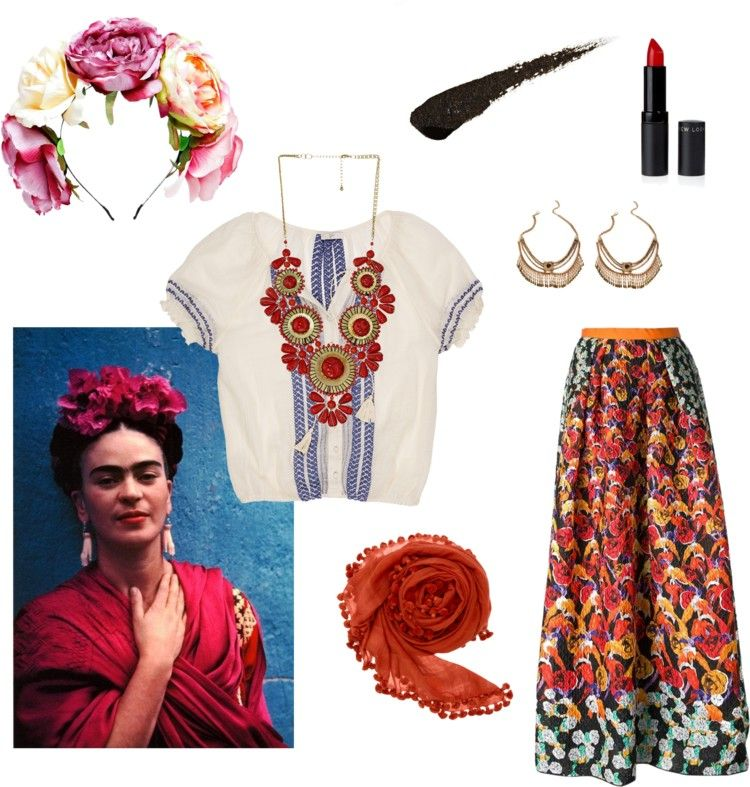 iconic halloween easy diy costumes easy diy costumes diy costumes and frida kahlo. Black Bedroom Furniture Sets. Home Design Ideas