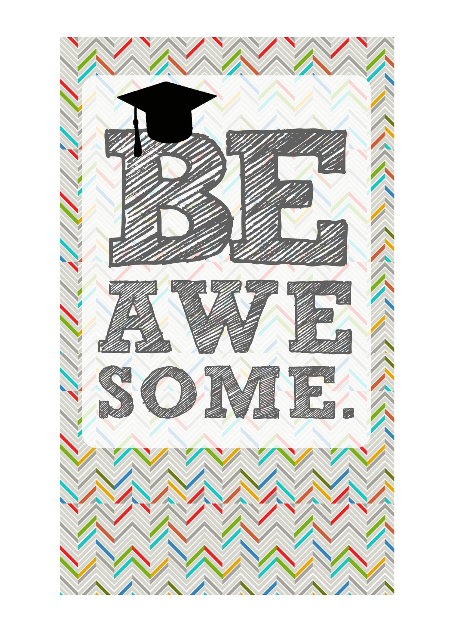 Légend image with free printable graduation card