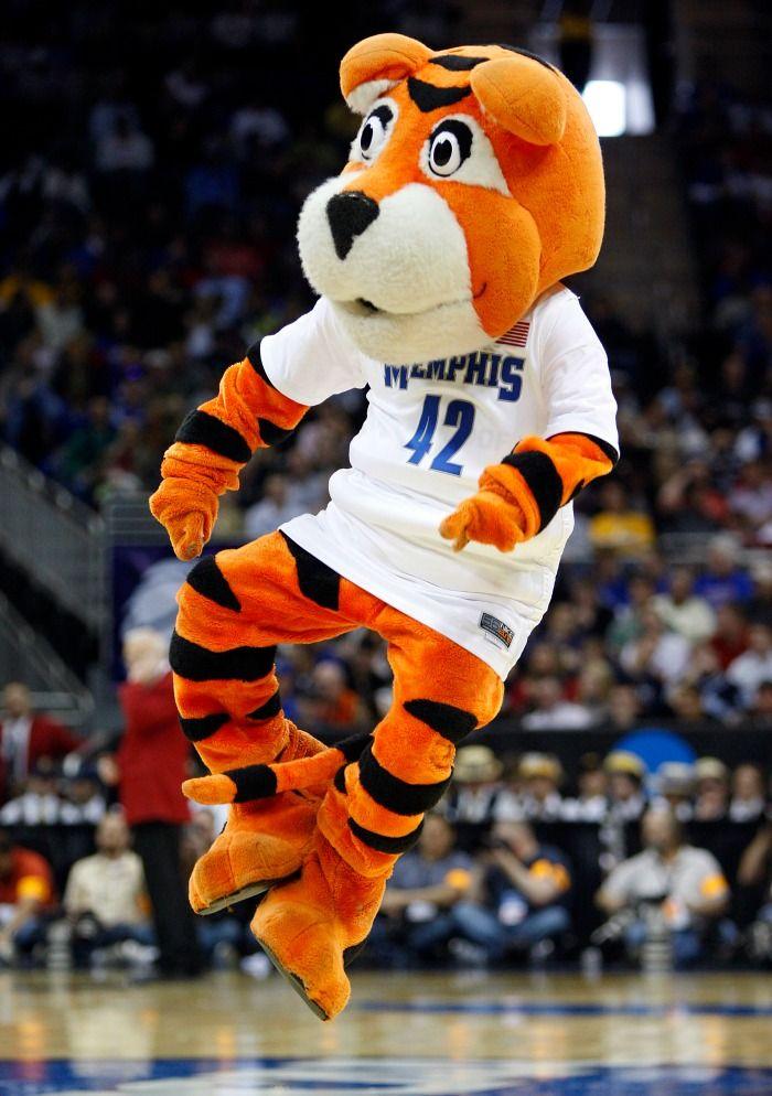 Mascot Monday University Of Memphis Tigers Memphis Tigers