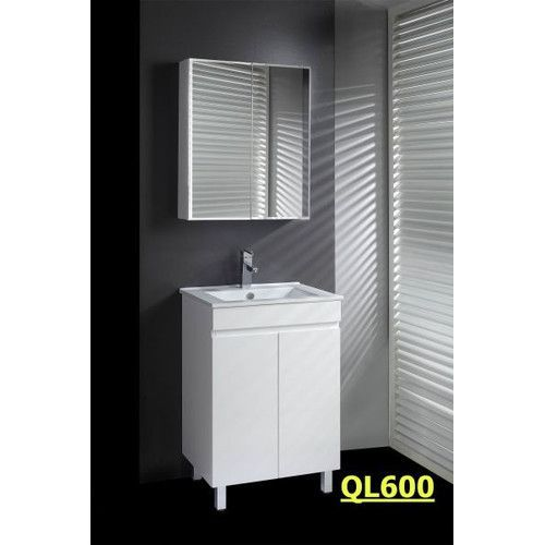 Lovely QL Series 60cm Shadow Line Slim China Top Vanity With Legs Ostar