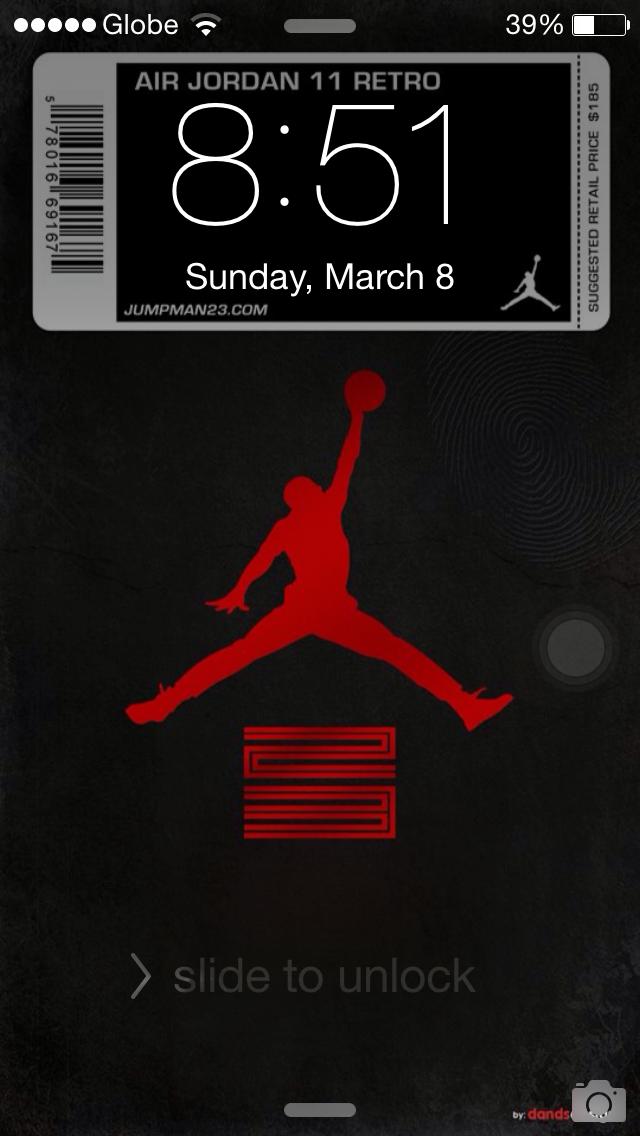Jordan 11 Breds 11iphone Wallpaper