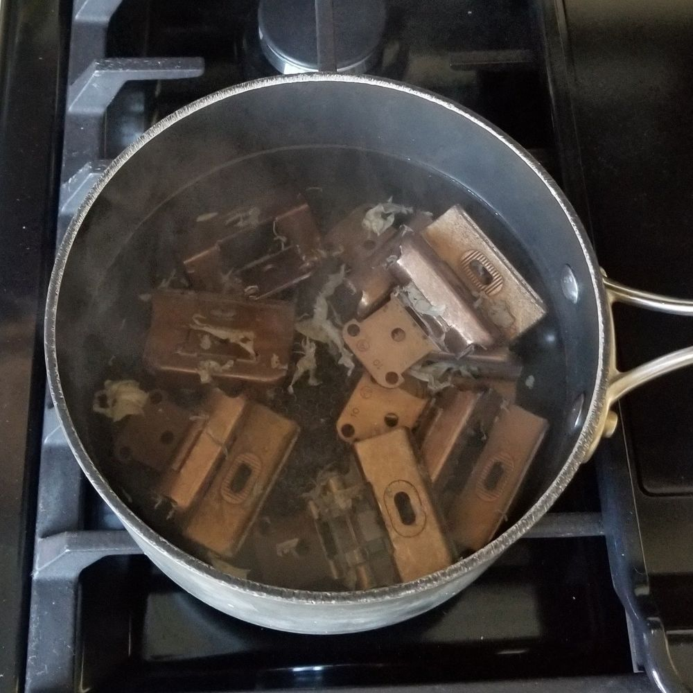 How To Quickly Clean And Update Your Old Cabinet Hinges ...