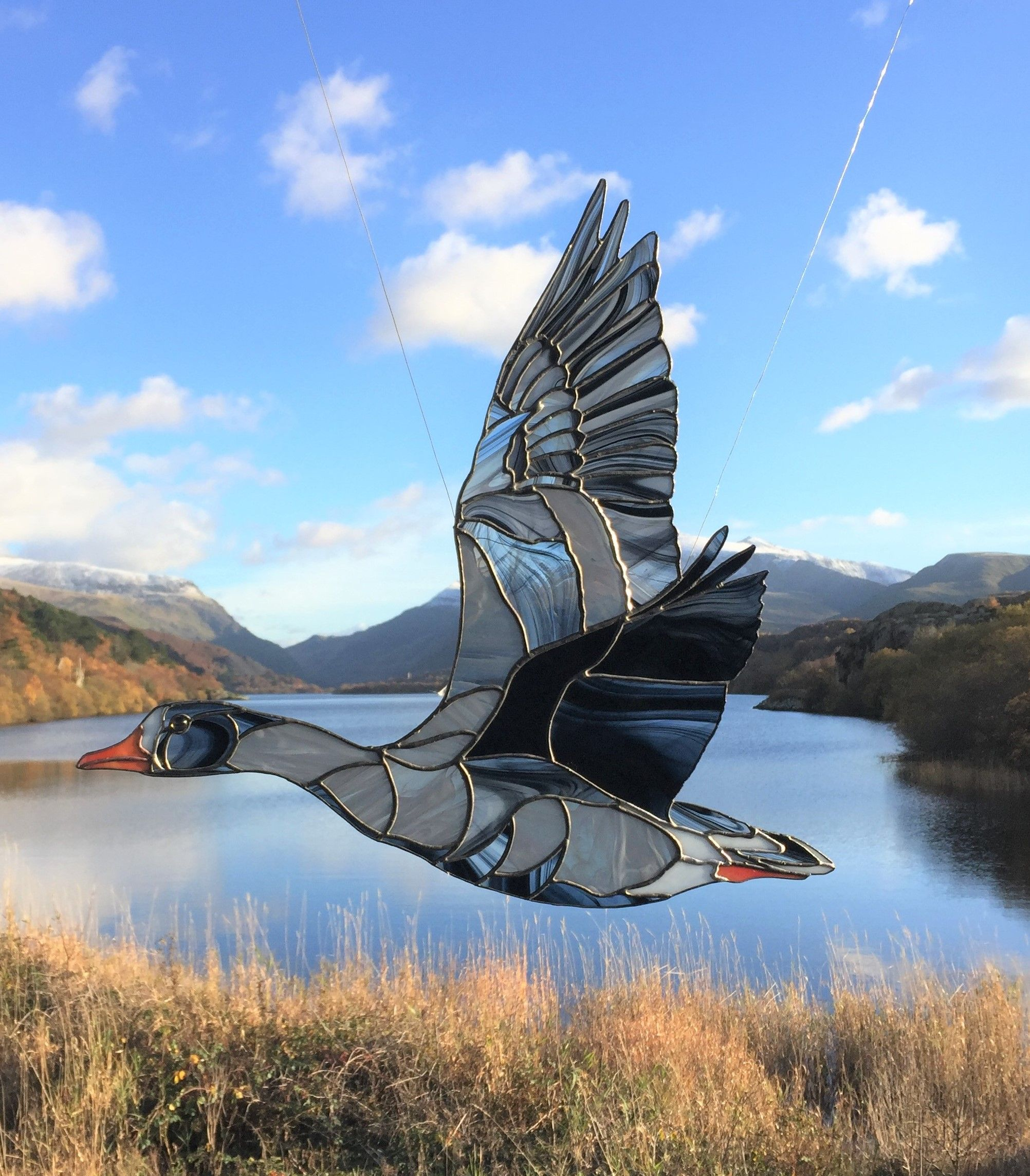 The Home Of Delwedd Y Fran Stained Glass Art From Snowdonia