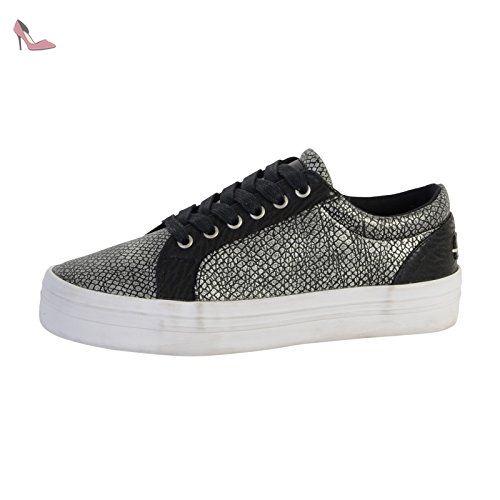 Flex, Sneakers Basses Femme, Noir, 41 EUKaporal