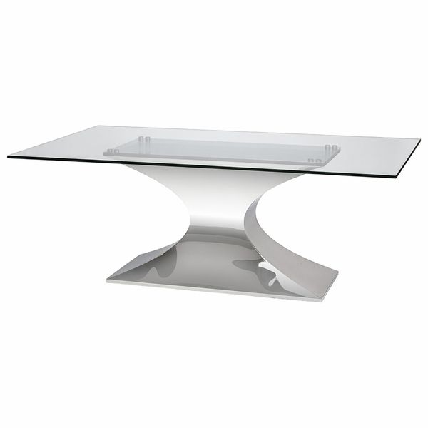 Praetorian Dining Table With Glass Top In 2020 Glass Conference