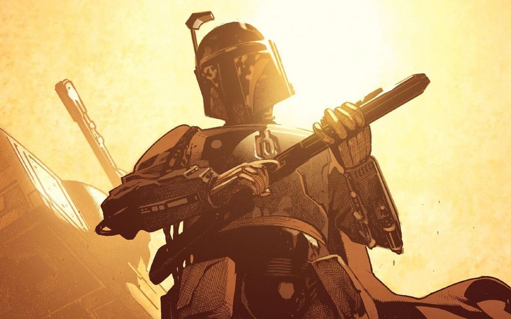 My Free Wallpapers Star Wars Wallpaper Boba Fett