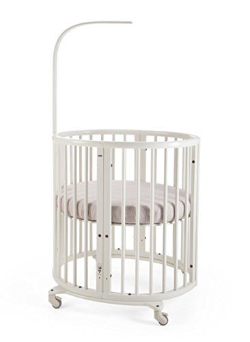 Stokke Sleepi Mini Crib Bundle With Mattress & Drape Rod