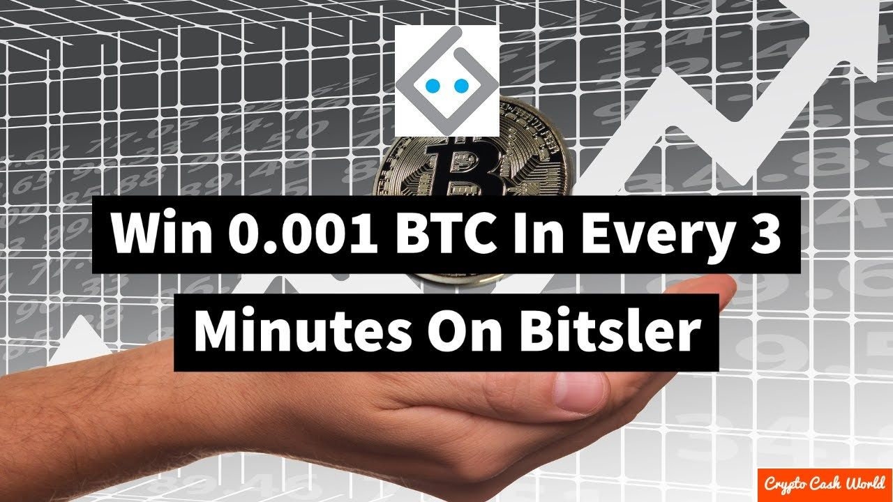 Win 0.001 BTC In Every 3 Minutes On Bitsler