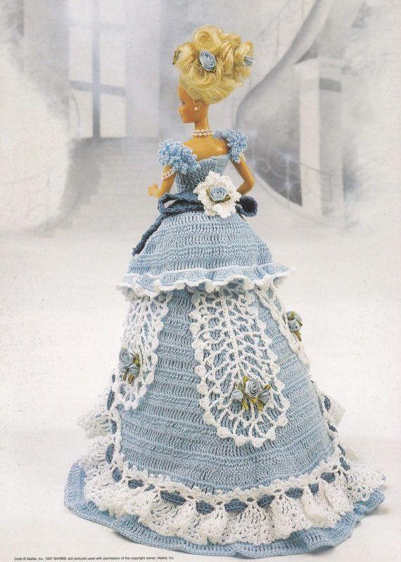 Miss October, Annie\'s 1993 Victorian Lady Centennial Crochet Doll ...