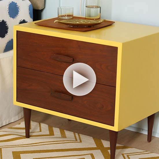 Easy DIY Nightstand Makeover