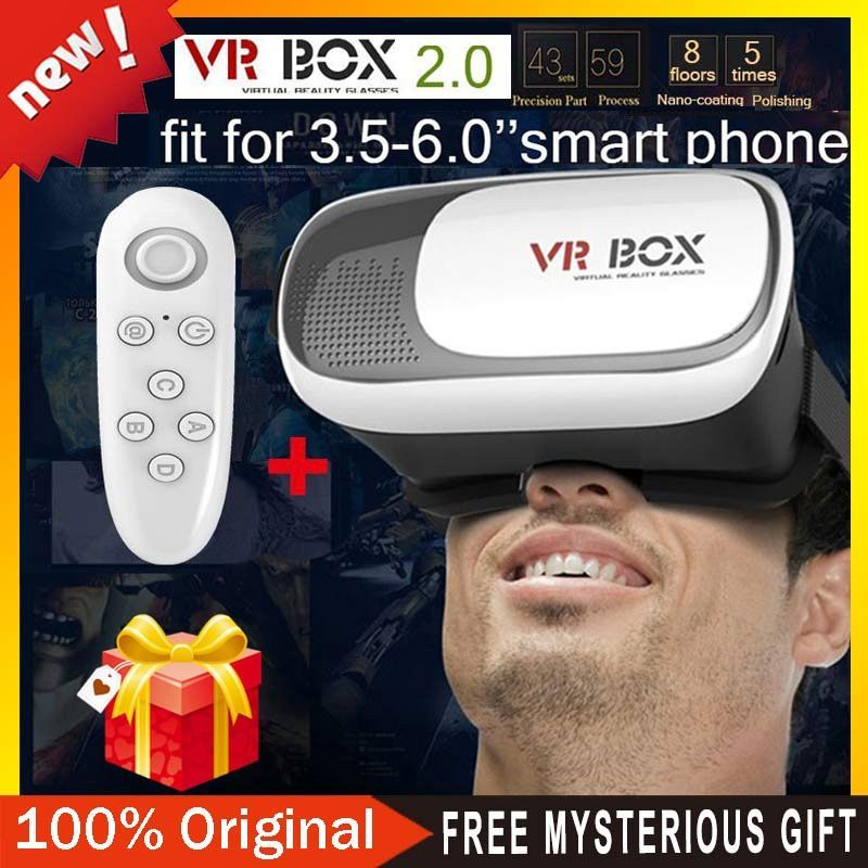 Google Cardboard Virtual Reality Glasses Smart Bluetooth