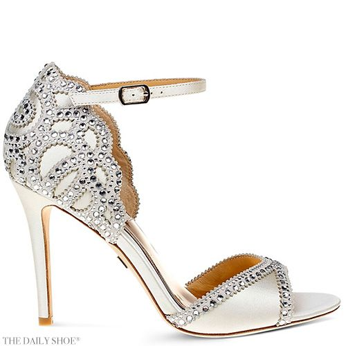 371b8432aa9 Wednesdays Wedding Shoe by BADGLEY MISCHKA Roxy Vintage High Heel Sandals  Happy 6th Birthday to The
