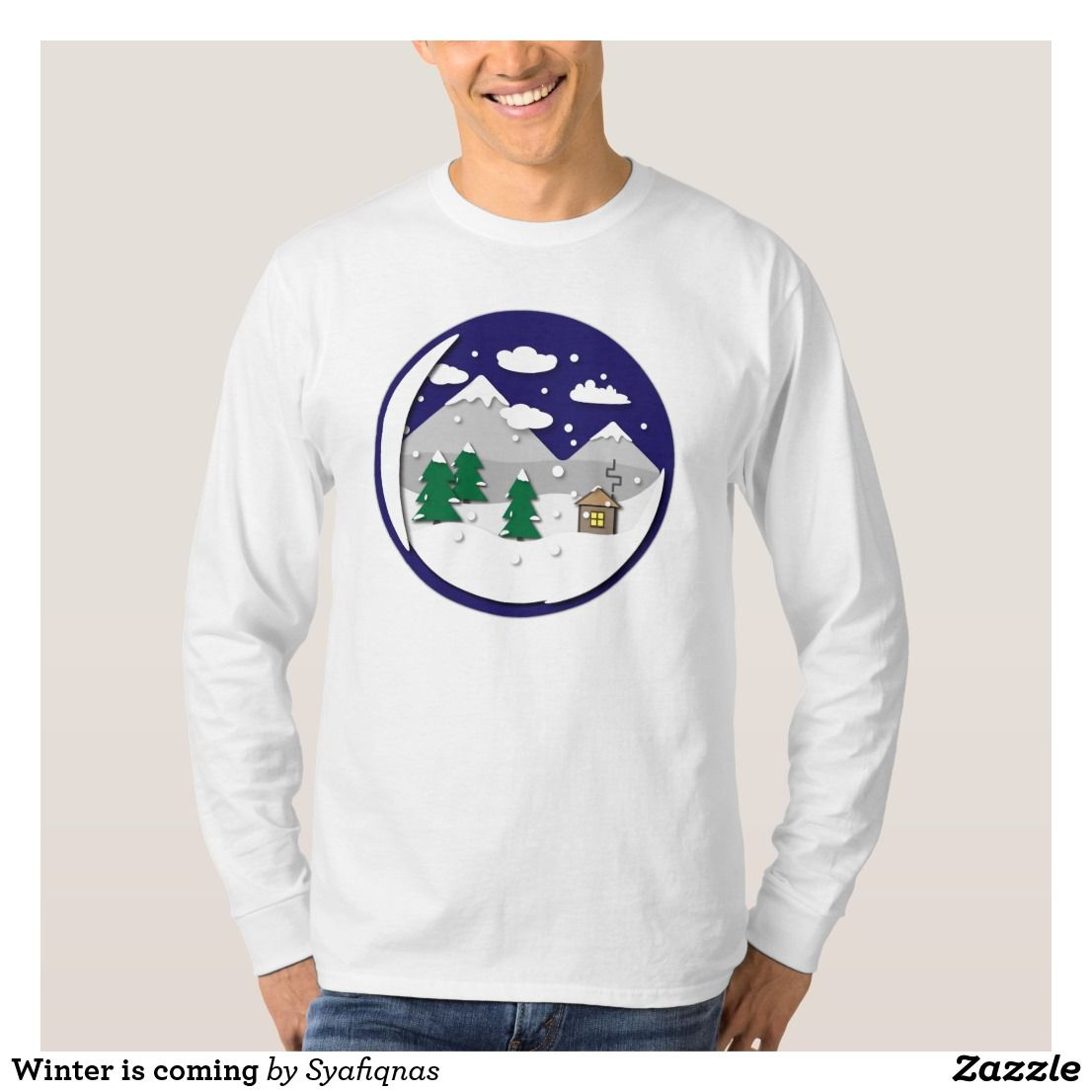 Winter Is Coming Travel Tshirt Apparel Design Sale