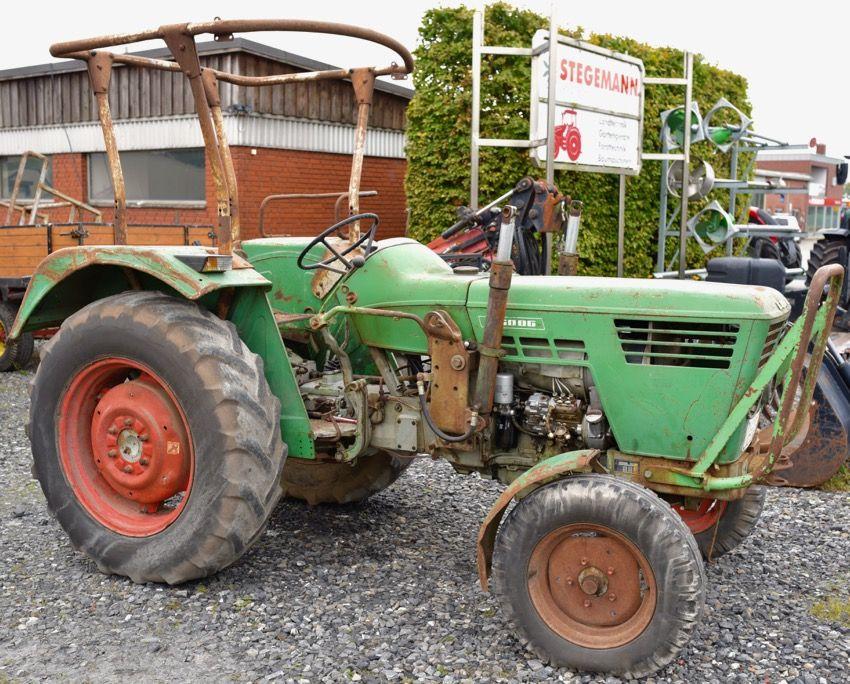 Deutz D 5006 Mit Frontlader Stegemann Landtechnik Deutz Oldtimer Traktoren Deutz Fahr