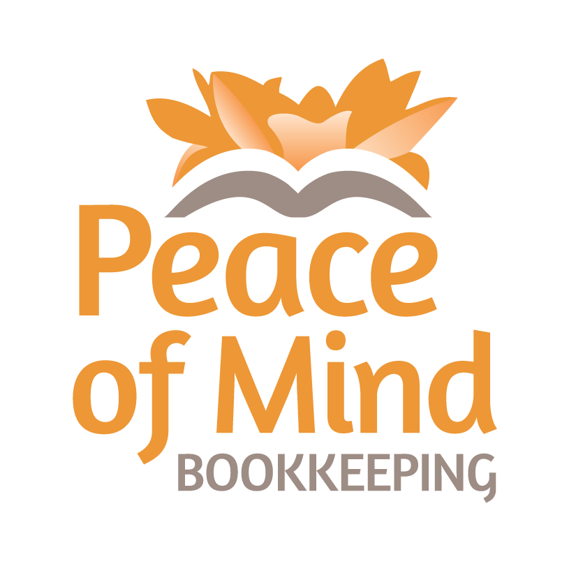 Business card design for @PeaceOfMind #bookkeeping #ottawa ...