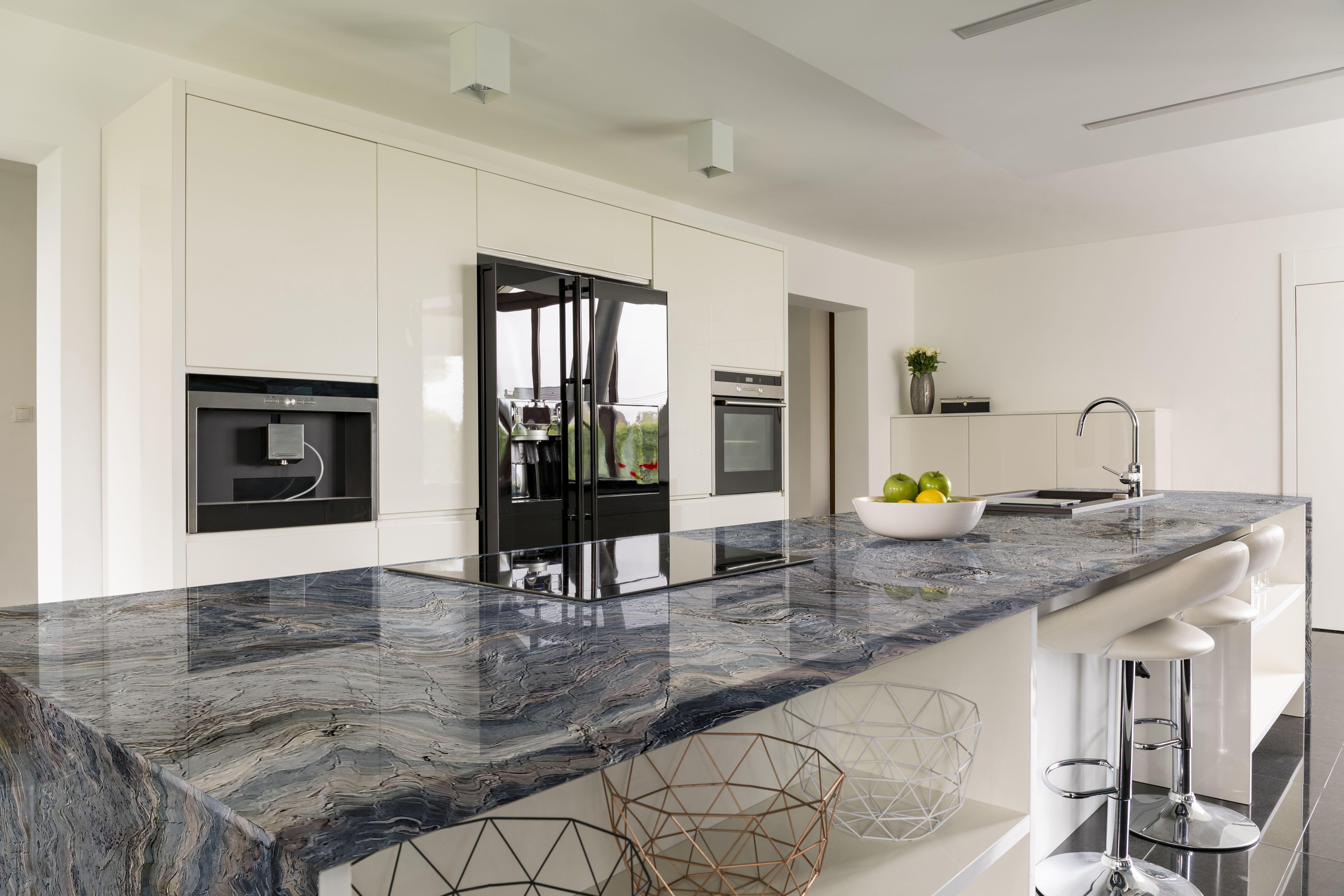 Blue Fusion Quartzite Kitchen Quartzite Countertops