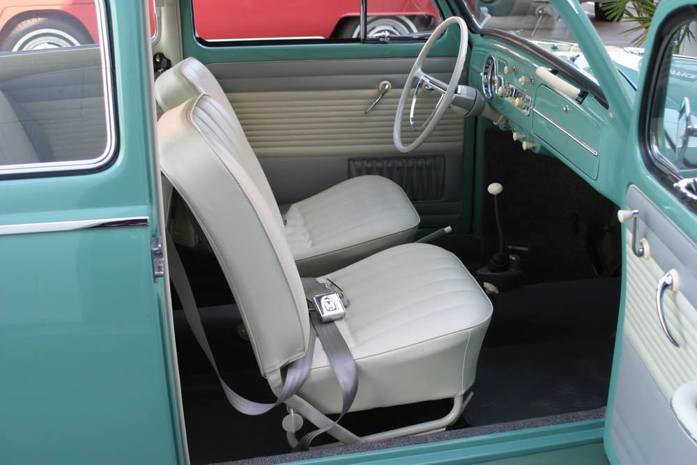 Original Style 1962 63 Vw Beetle Interior And Upholstery Volkswagen Karmann Ghia Vw Beetles Volkswagen Beetle