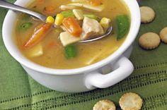 Acid reflux friendly recipe: Chicken noodle soup
