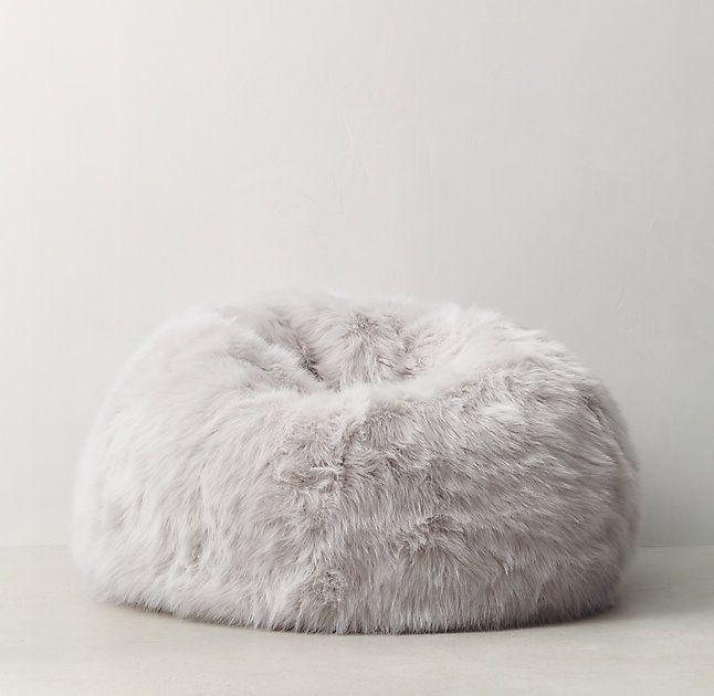 Restoration Hardware Teen Kashmir Faux Fur Bean Bag - Messenger Bags, Shop For Bags, Mens Bags -7326