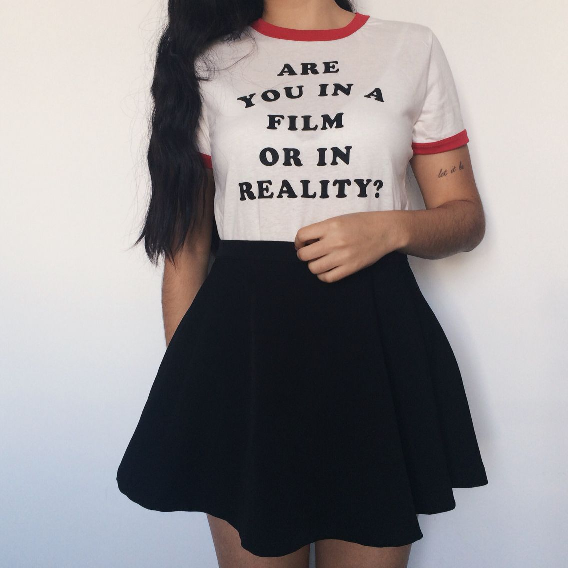 Are u in a film or reality