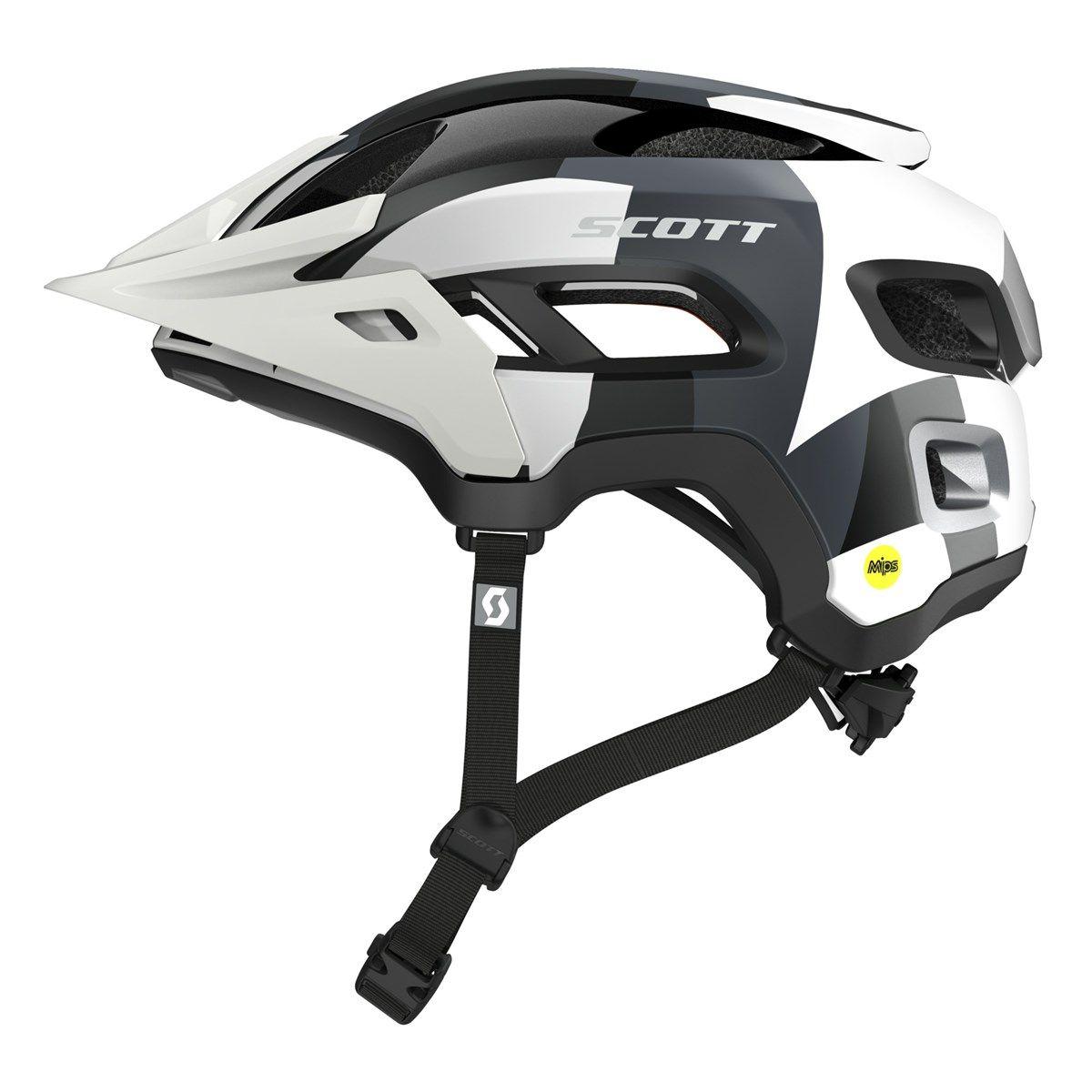 2016 Scott Stego Snow Camo All Mountain Mountain Bike Helmet